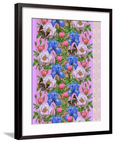Blooming Meadow-Maria Rytova-Framed Art Print
