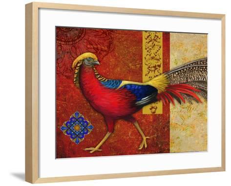 Golden Pheasant-Maria Rytova-Framed Art Print