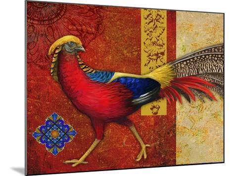 Golden Pheasant-Maria Rytova-Mounted Giclee Print