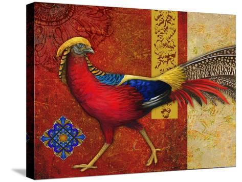 Golden Pheasant-Maria Rytova-Stretched Canvas Print