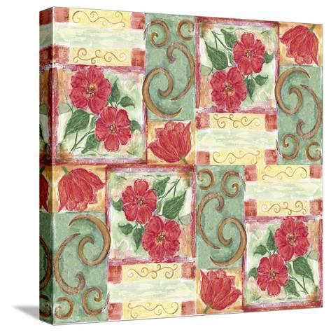 Floral 4-Maria Trad-Stretched Canvas Print