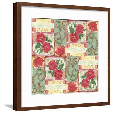Floral 4-Maria Trad-Framed Art Print