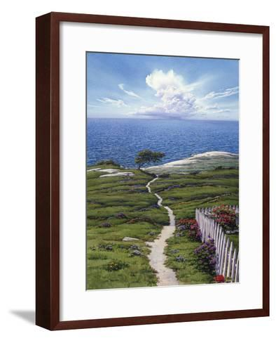 Distant Rain-Lee Mothes-Framed Art Print