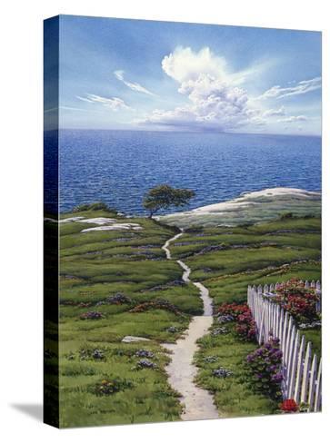 Distant Rain-Lee Mothes-Stretched Canvas Print