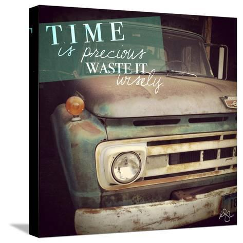 Precious Time-Kimberly Glover-Stretched Canvas Print