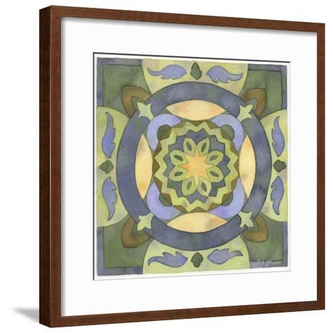 Geometry and Color Part 2 - # 4-Julie Goonan-Framed Art Print