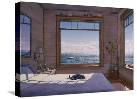 House - Top Bedroom-Lee Mothes-Stretched Canvas Print