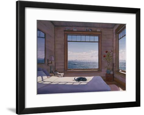 House - Top Bedroom-Lee Mothes-Framed Art Print
