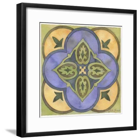 Geometry and Color Part 2 - # 1-Julie Goonan-Framed Art Print