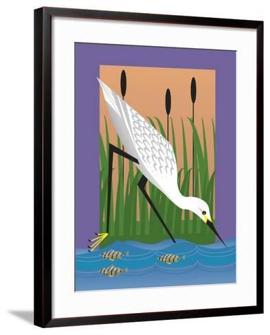 In the Marsh-Marie Sansone-Framed Art Print