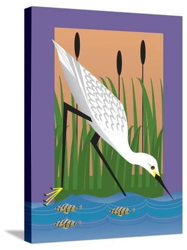 In the Marsh-Marie Sansone-Stretched Canvas Print