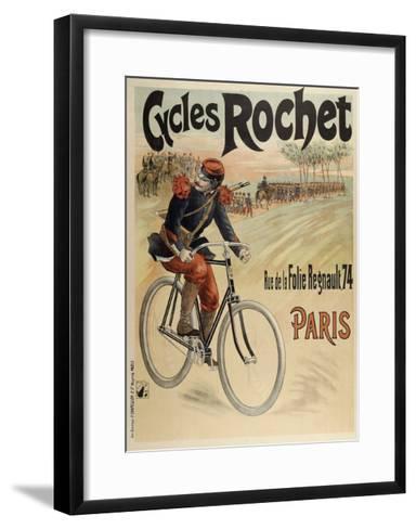 Cycles Rochet-Marcus Jules-Framed Art Print