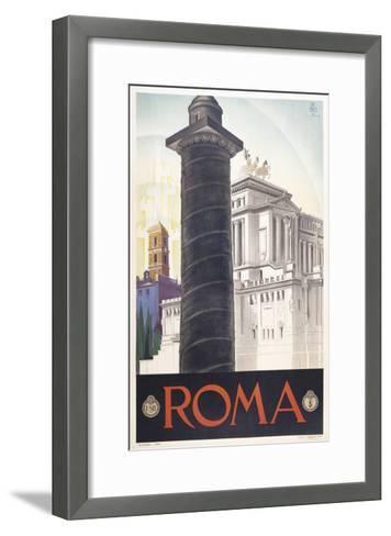 Roma-Marcus Jules-Framed Art Print