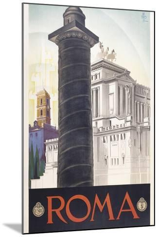 Roma-Marcus Jules-Mounted Giclee Print