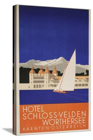 Hotel Schloss-Velden-Marcus Jules-Stretched Canvas Print