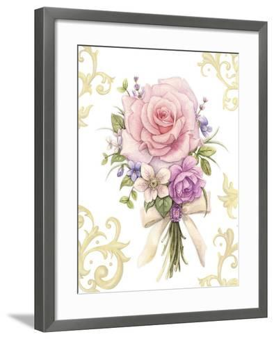 Small Bouquet with a White Bow-Maria Rytova-Framed Art Print