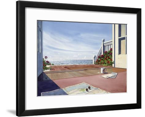 The Monkey Cup-Lee Mothes-Framed Art Print