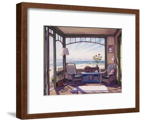 View from the Last House-Lee Mothes-Framed Art Print