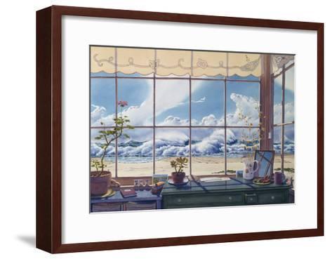 The Writing Desk-Lee Mothes-Framed Art Print