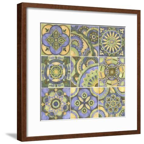 Geometry and Color Part 2-Julie Goonan-Framed Art Print