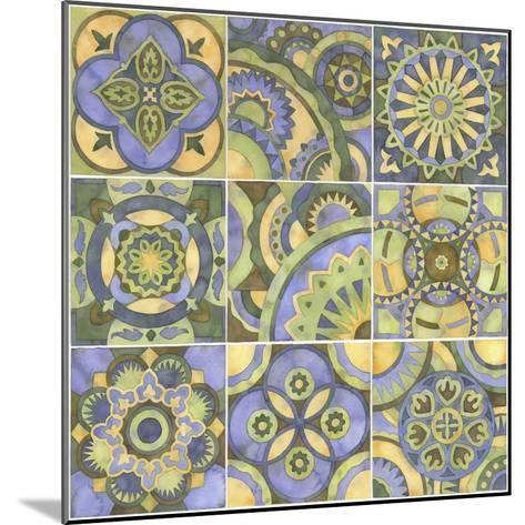 Geometry and Color Part 2-Julie Goonan-Mounted Giclee Print