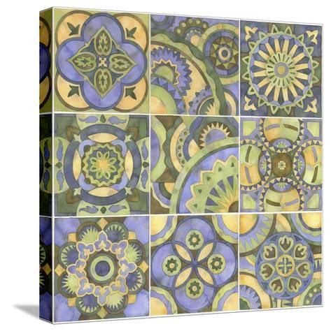 Geometry and Color Part 2-Julie Goonan-Stretched Canvas Print