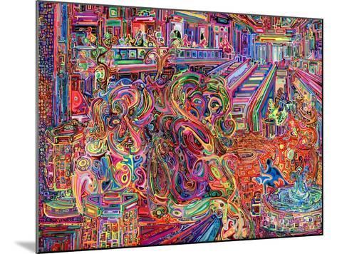 Mall-Josh Byer-Mounted Giclee Print