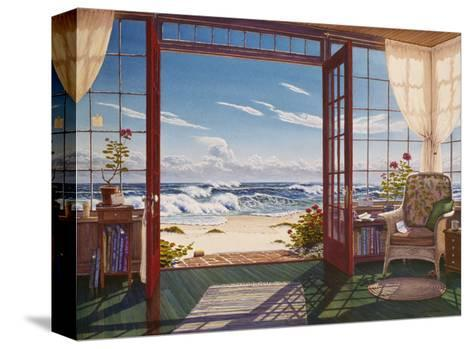 The Reading Porch-Lee Mothes-Stretched Canvas Print