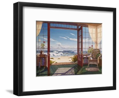 The Reading Porch-Lee Mothes-Framed Art Print