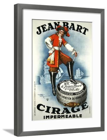Jean Bart Impermeable Cirage-Marcus Jules-Framed Art Print
