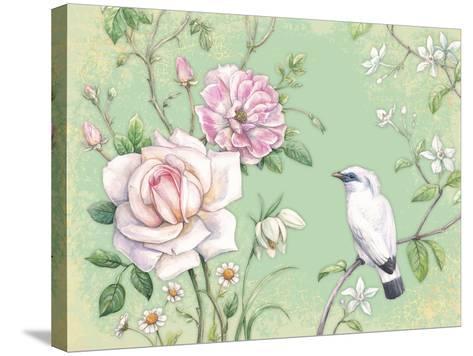 White Bird-Maria Rytova-Stretched Canvas Print