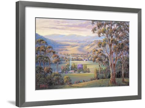 Close of Day - Vacy-John Bradley-Framed Art Print