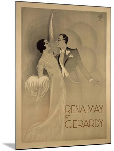 Rena May Et Gerardy-Marcus Jules-Mounted Giclee Print
