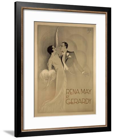 Rena May Et Gerardy-Marcus Jules-Framed Art Print