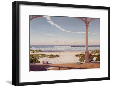 Good Morning Moon-Lee Mothes-Framed Art Print