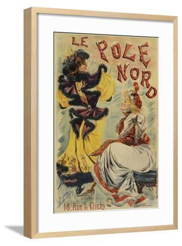 Le Pole Nord-Marcus Jules-Framed Art Print