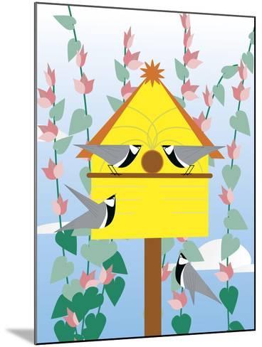 Chickadees 2-Marie Sansone-Mounted Giclee Print