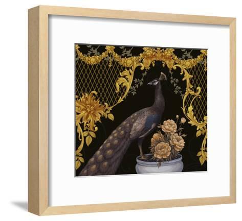 Black Peacock-Maria Rytova-Framed Art Print