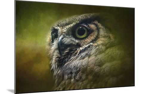 Great Horned Owl in the Grove-Jai Johnson-Mounted Giclee Print