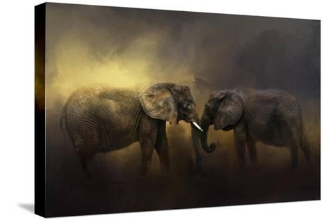 Together Through the Storms-Jai Johnson-Stretched Canvas Print