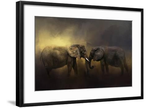 Together Through the Storms-Jai Johnson-Framed Art Print