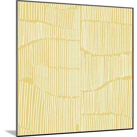 The Spaces Between Perfect Tile Yellow-Kavan & Company-Mounted Giclee Print