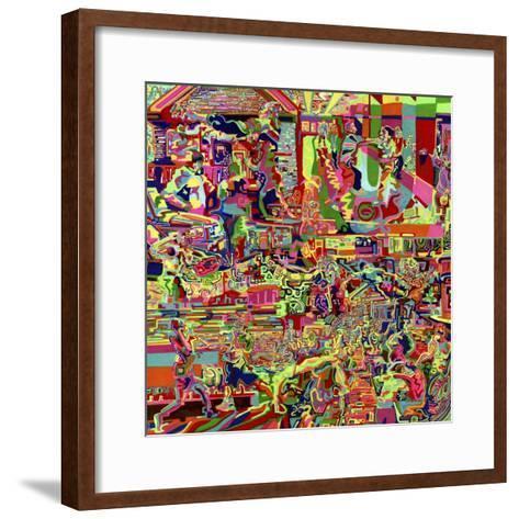 Fights-Josh Byer-Framed Art Print