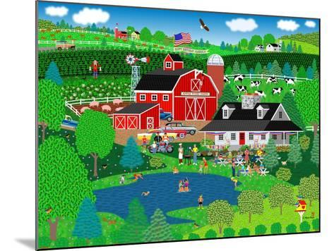 Apple Pond Farm Summer-Mark Frost-Mounted Giclee Print