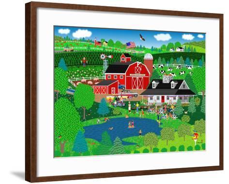 Apple Pond Farm Summer-Mark Frost-Framed Art Print