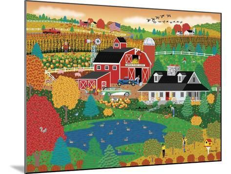 Apple Pond Farm Fall-Mark Frost-Mounted Giclee Print