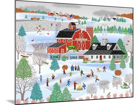 Apple Pond Farm Winter-Mark Frost-Mounted Giclee Print
