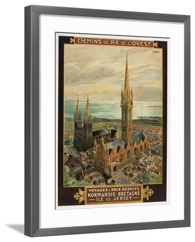 Voyages a Prix Redvits-Marcus Jules-Framed Art Print