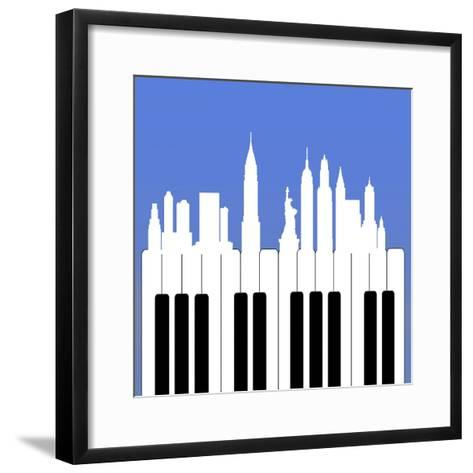NYC-Mark Ashkenazi-Framed Art Print