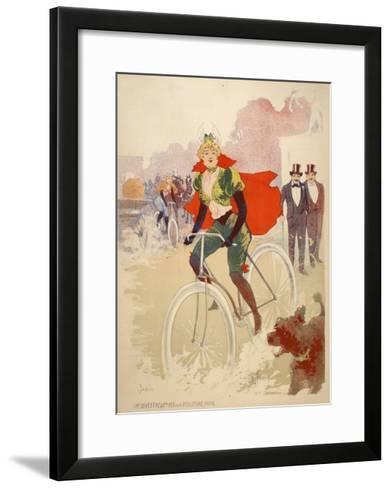 Bike Ride-Marcus Jules-Framed Art Print